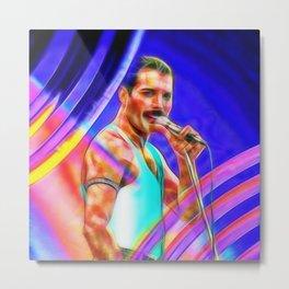 Freddie M. Metal Print