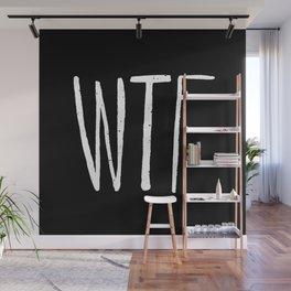 WTF Noir Wall Mural