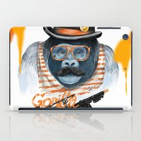gangster iPad Cases featuring Gangster by dogooder