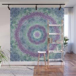 Iris Goddess Mandala Wall Mural