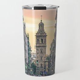 Valencia's sunset Travel Mug