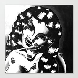 Dark Zodiac: Scorpio Canvas Print