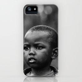 Child in Rwanda iPhone Case
