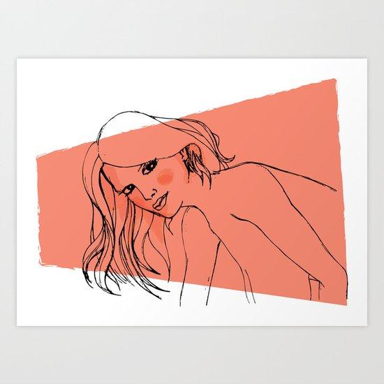 GrrL Art Print