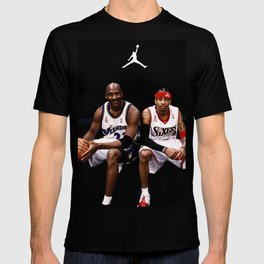 AllenIverson MichaelJordan T-shirt