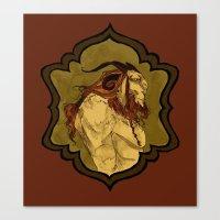 baphomet Canvas Prints featuring Baphomet by Abigail Larson