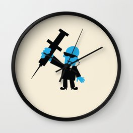 GOVERNMENT TESTING Wall Clock