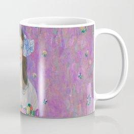 """Gustav Klimt """"Mäda Primavesi"""" Coffee Mug"""