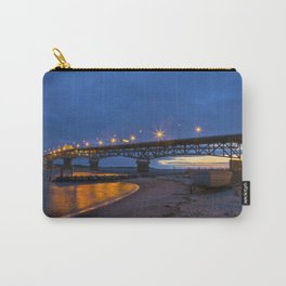 Coleman Bridge At Sunrise Carry-All Pouch