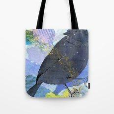 Vinter fugl Tote Bag