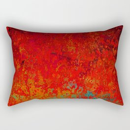 Figuratively Speaking, Abstract Art Rectangular Pillow