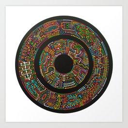 Game of Tones Art Print