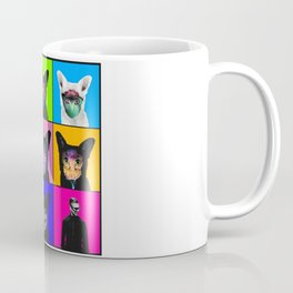 GALANTIS SEAFOX FAMILY POPART Coffee Mug