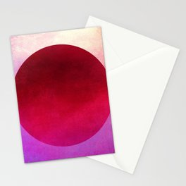 Circle Composition XII Stationery Cards