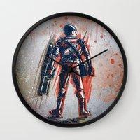 akira Wall Clocks featuring Akira by Joe Badon