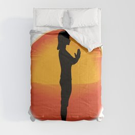 Salutation Yoga Pose Comforters