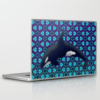orca Laptop & iPad Skins featuring Orca by Dusty Goods