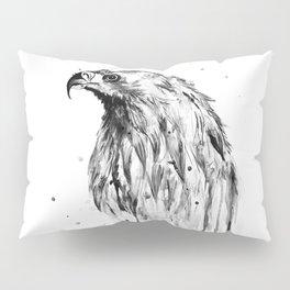 Eagle, black and white Pillow Sham