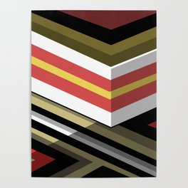 Abstract Lined Poster