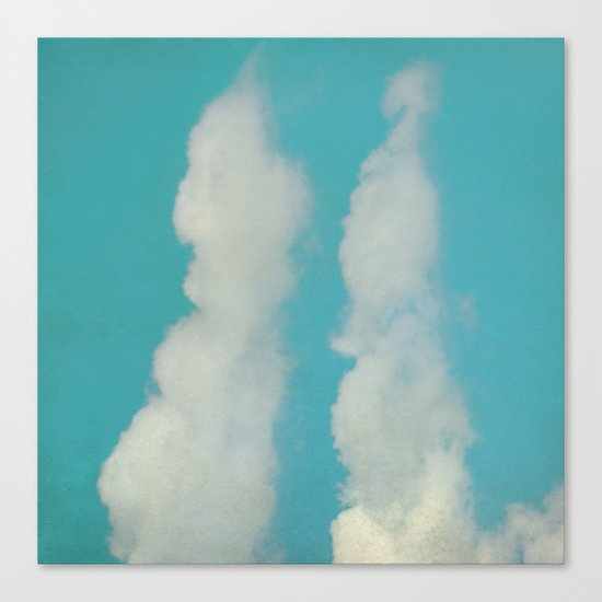 Mr.&Mrs. Cloud Canvas Print