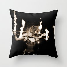 When Will They Burn? Throw Pillow