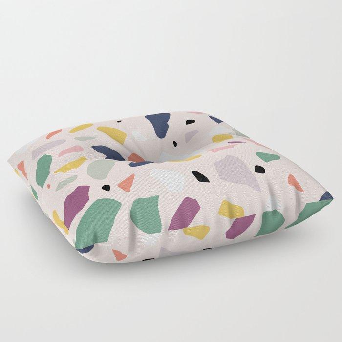 Big Terrazzo Floor Pillow By Kisforblack