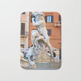 Poseidon - Piazza Navona Bath Mat