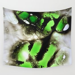 neon nightmare Wall Tapestry