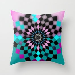 Psicoeli 13 Throw Pillow
