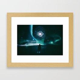 INFINITE WORLD #6 Framed Art Print
