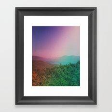 Prospect Mountain Framed Art Print