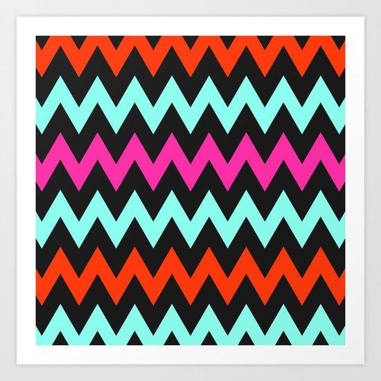 Zigzag #7 Art Print