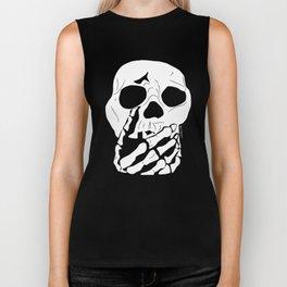 Skull (Speak no Evil) Biker Tank
