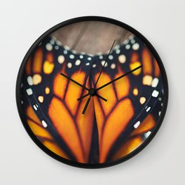 Monarch Study #3 Wall Clock