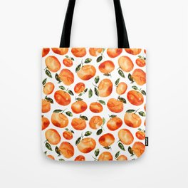 Watercolor tangerines Tote Bag