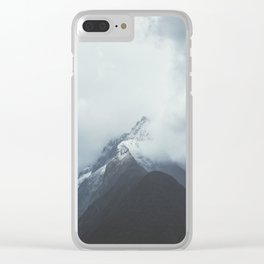 Milford Sound (Color) Clear iPhone Case