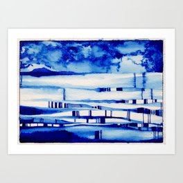 """Jill North, """"Spatiotemporal Structure and the Relational-Substantival Debate"""" Art Print"""