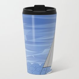 Sailing the High Seas Metal Travel Mug