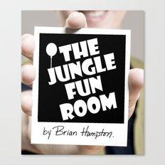The Jungle Fun Room: Initiation Artwork Canvas Print