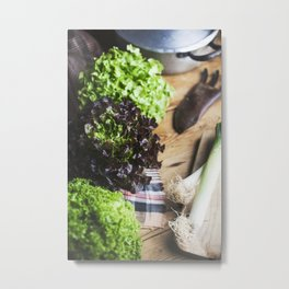 Vegetables harvest. Metal Print