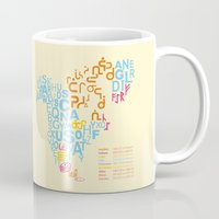 writing Mugs featuring North America ~ Writing Sistems by Stop::mashina ~Runes
