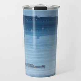 James Abbott McNeill Whistler - Nocturne- Blue and Silver Travel Mug