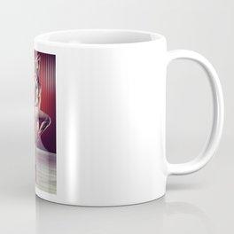 Nude and beautiful athletic woman posing Coffee Mug