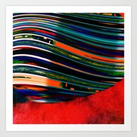 rave Art Prints featuring Rave by Neelie