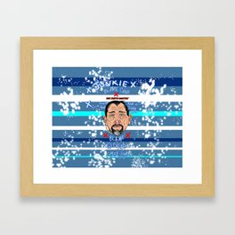 Dope Creates Monsters Wasted Framed Art Print