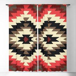 American Native Pattern No. 105 Blackout Curtain