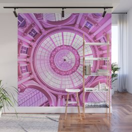 Pink Architecture Monument Wall Mural