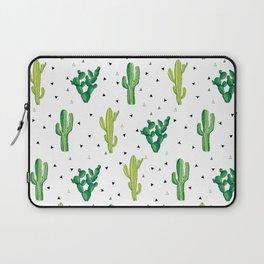 Cactus Print Laptop Sleeve