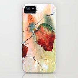 Autumn leaf 2 iPhone Case