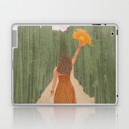 A Way Through the Cactus Field Laptop & iPad Skin